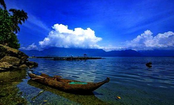 Objek wisata Danau Maninjau Sumatera Barat