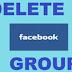 Facebook Delete Group