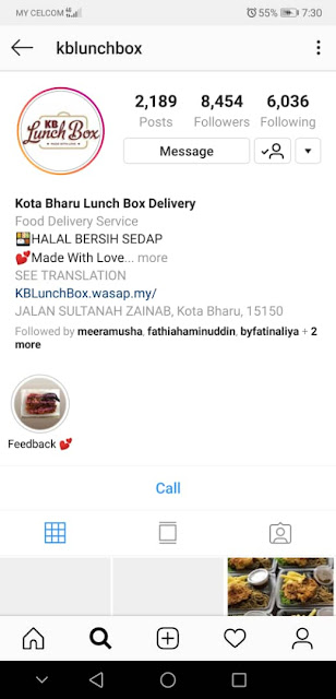 Kota Bharu Lunch Box Delivery