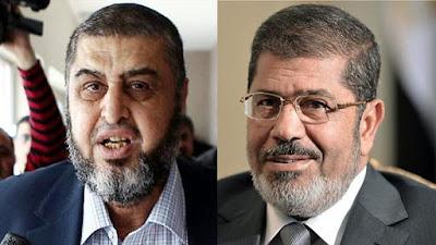 مرسي وخيرت الشاطر