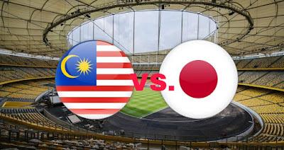 Live Streaming Malaysia vs Japan Kejohanan B-16 AFC 26.9.2018