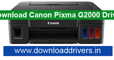 Canon Pixma G2000 driver Download for windows and MAC