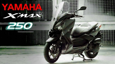 All New Yamaha X-Max 250 2018