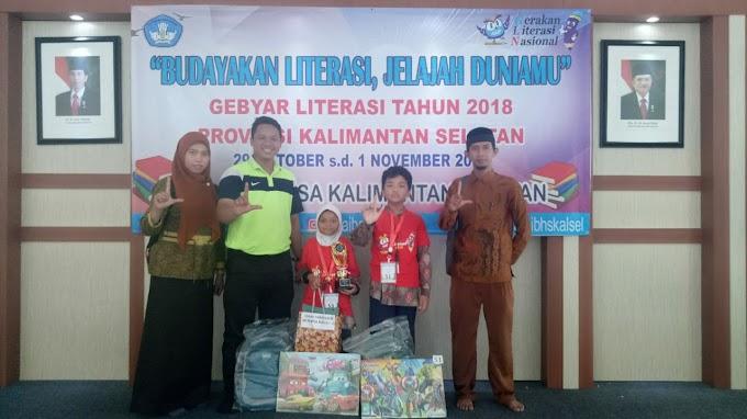 Ceria Literasi Balai Bahasa Kalimantan Selatan