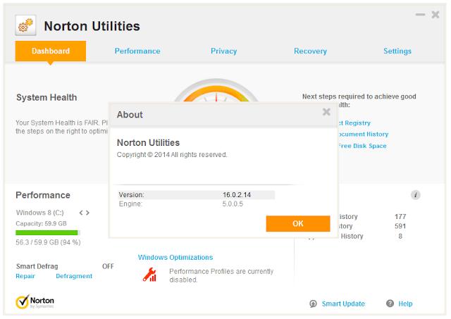 Symantec Norton Utilities crack for windows