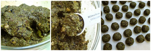Dried fruit and senna remedy by Laka kuharica: form little balls