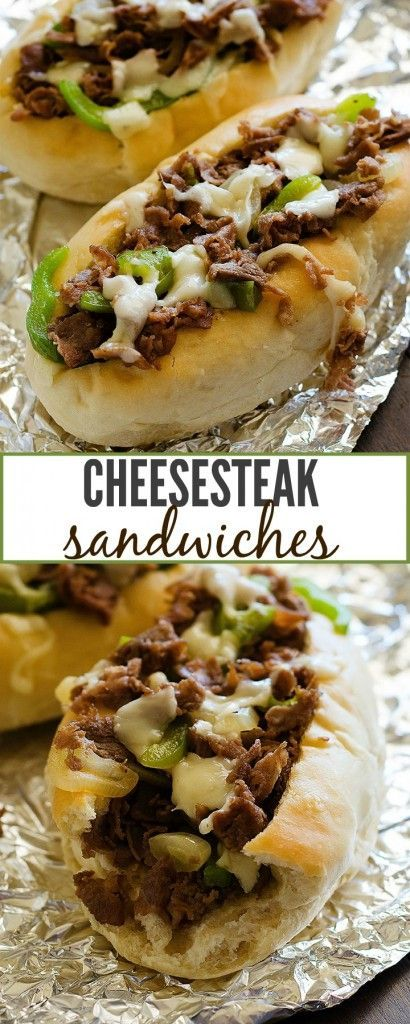 Cheesesteak Sandwiches #cheesesteak #steak #sandwich #sandwiches #dinner #dinnerideas #dinnerrecipes #easydinnerrecipes