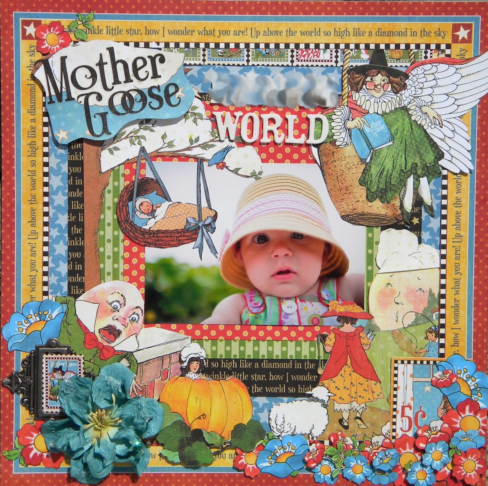 Mother Goose Craft Ideas