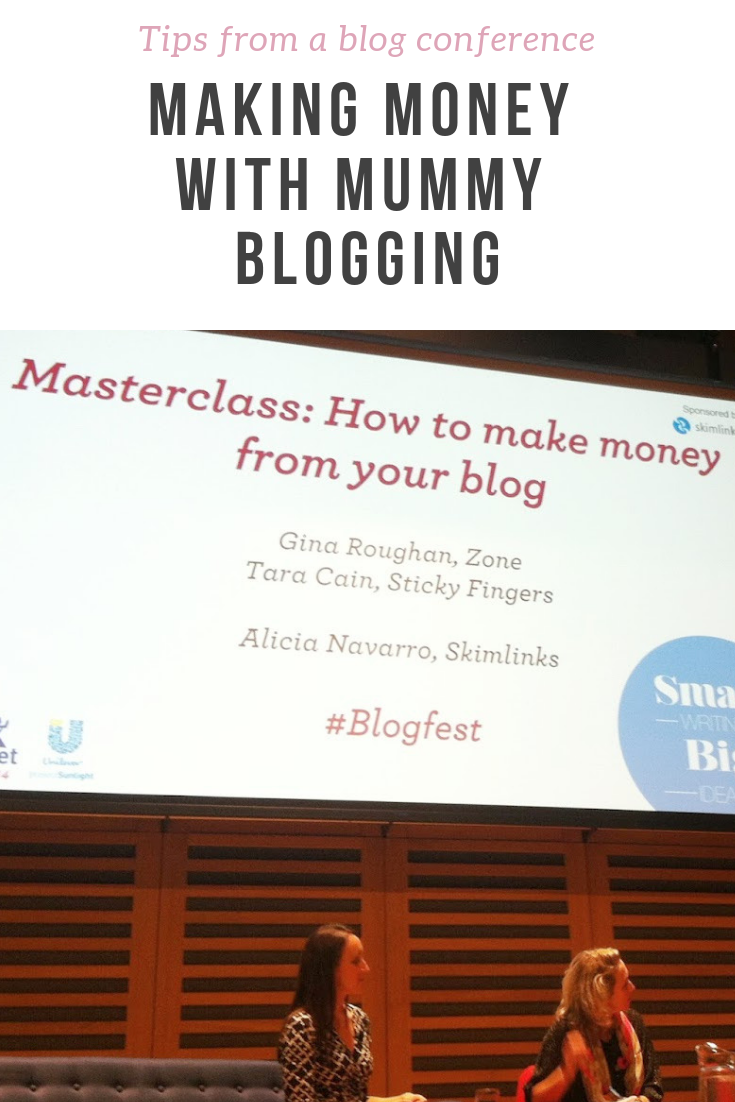 Tips from bloggers and digital marketing agency at a blogging conference for parenting bloggers - why mummy bloggers are worth it, how to get commercial opportunities and how to make blogging pay.