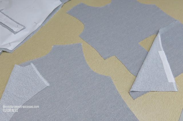 como preparar la prenda antes de coser