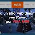 Crea un sitio web dinámico con jQuery por VIDA MRR