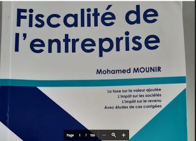 Fiscalité de l'entreprise Mounir 2019 (TVA , IS, IR)