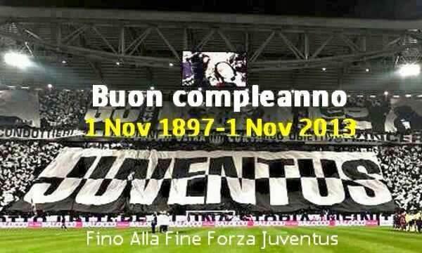 Juventus Compagna Di Viaggio Buon Compleanno Juventus