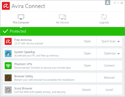 Avira Sicurity Suite v15.0.32.12 2017 Full Version | Update