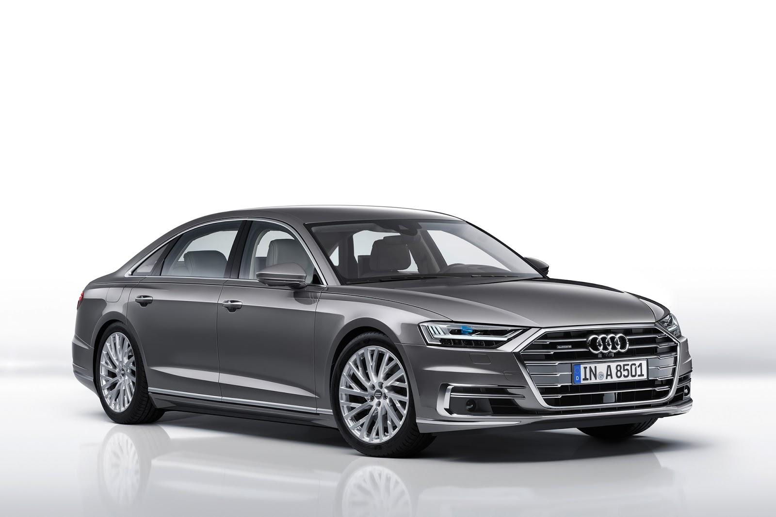 The New 2018 Audi A8 L Long Version