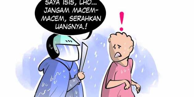 Biar ditakuti, Perampok Ini Ngaku ISIS Gasak Recehan Rp 17 Juta