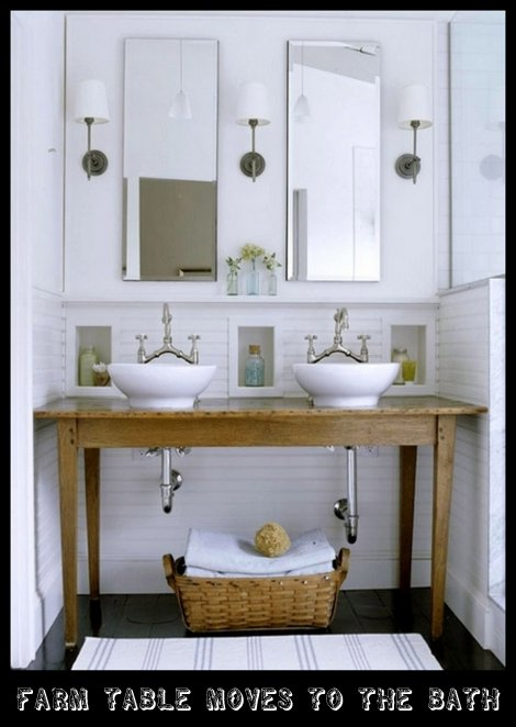 FARM SINKS IN BATHROOM | Content in a Cottage
