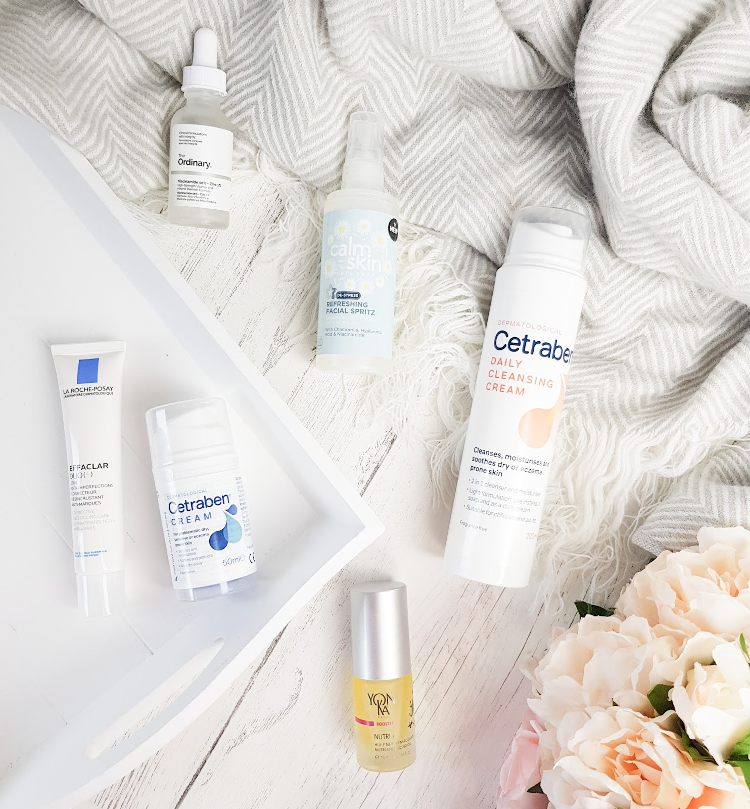 Recent Skincare Additions for dry blemish prone skin