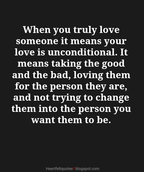 Quotes About Loving Someone Entrancing 7 When You Truly Love Someone Love Quotes  Heartfelt Love And