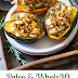 Caramelized Onion Apple Sausage Stuffed Acorn Squash {Paleo & Whole30}