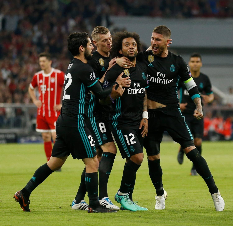 ريال مدريد يضرب بايرن بثنائية في ملعبه