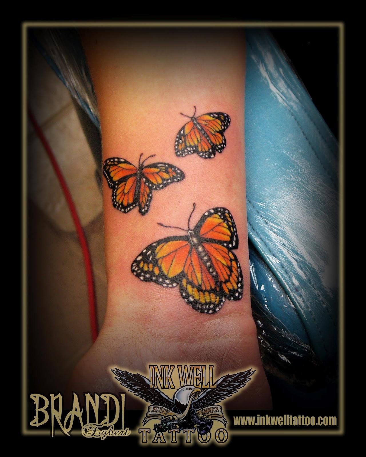 Brandi Egbert (Ink Well Tattoo): Butterflies!