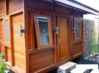 Rumah Kayu Minimalis Gaya Jepang
