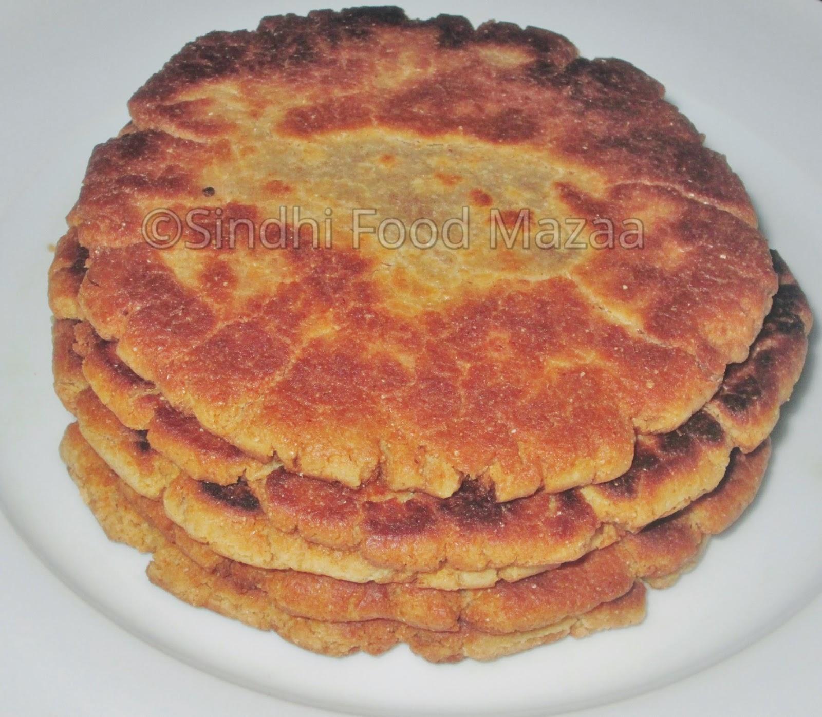 Lolo S Cakes Sweets: Sindhi Food Mazaa: GUR JO LOLO / SWEET ROTI WITH JAGGERY