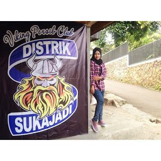 Bobotoh Cantik Anggi Selly Wahyuni Viking Distrik Sukajadi Bandung