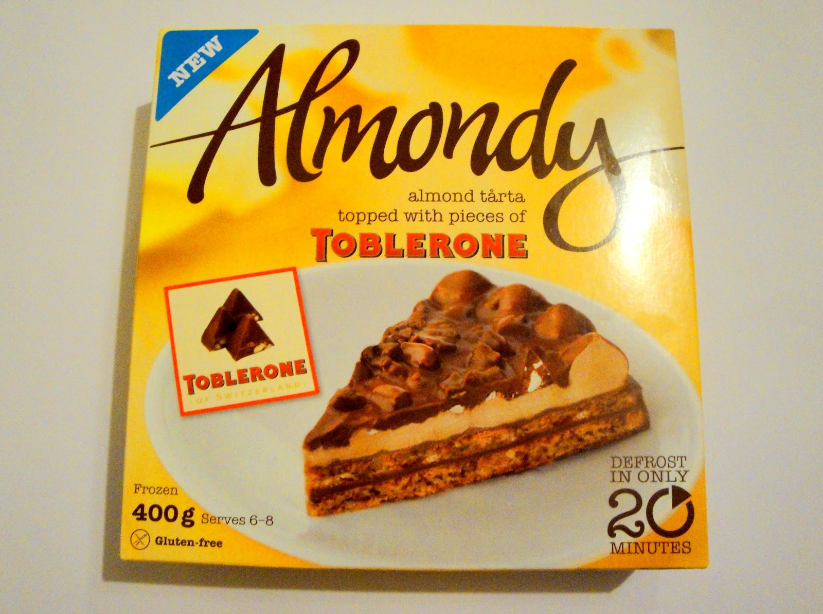 Chocolate Cake Recipe Uk Tesco: Grocery Gems: Almondy Toblerone Cake