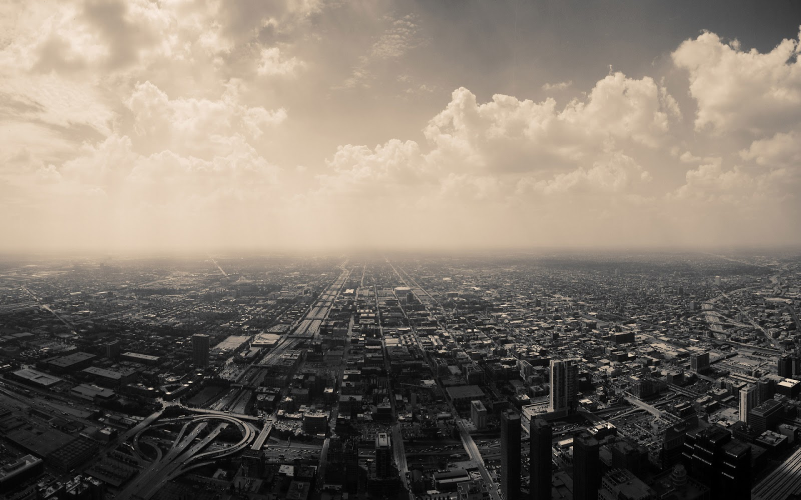 Wallpaper Fotografi Pemandangan Kota