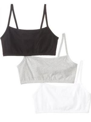 Thin strap sports bra