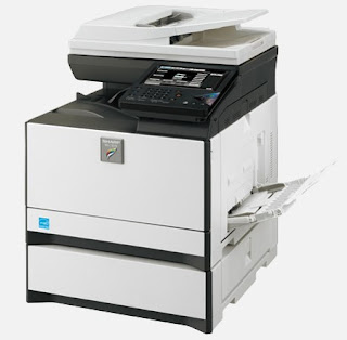 W printer coloring multifunction gadget could live on real compact Sharp MX C301W Driver Download