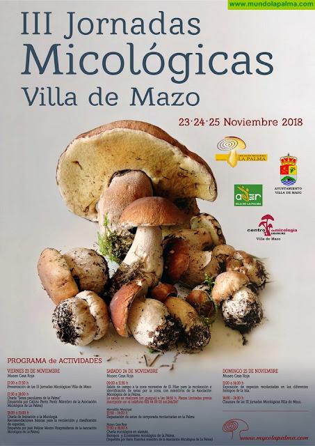La Sociedad Micológica de La Palma pone en valor el patrimonio micológico insular en sus jornadas anuales