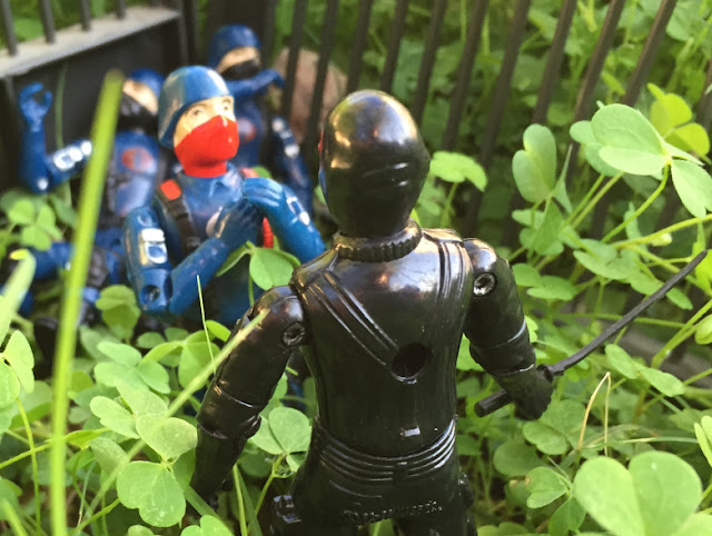 1983 Snake Eyes, Bootleg Cobra Trooper, Viper Pilot, Black Major, Custom