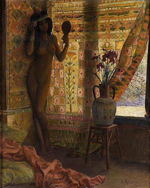Georges Antoine Rochegrosse: Lo specchio