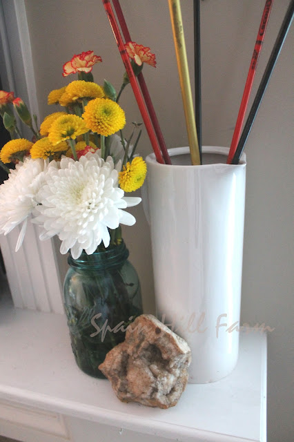 add unexpected elements to freshen up your decor - vintage arrows