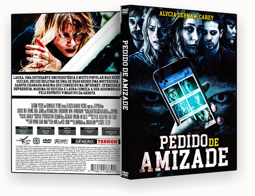 CAPA DVD – PEDIDO DE AMIZADE – ISO