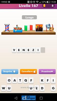 Emoji Quiz soluzione livello 167