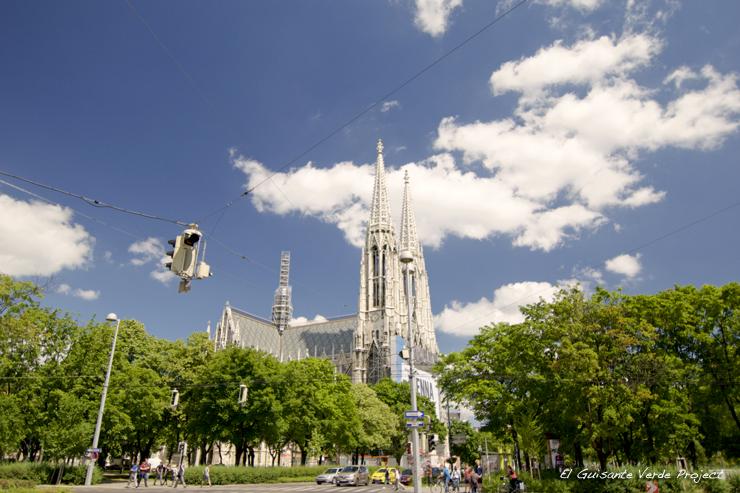 Iglesia Votiva - Viena, por El Guisante Verde Project