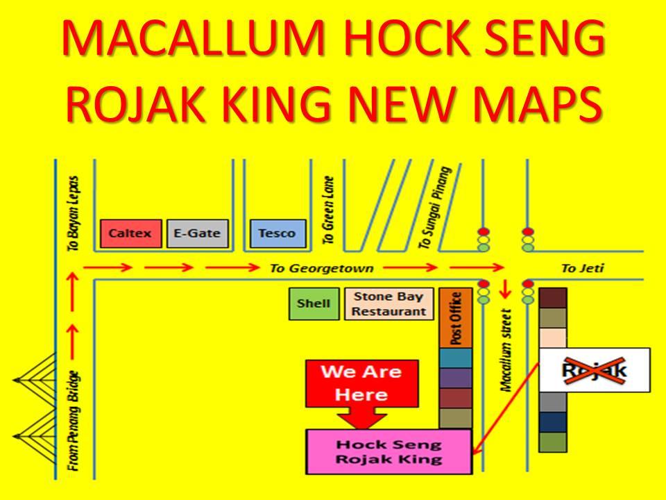 Hock Seng Rojak King @ Macallum Street, Penang
