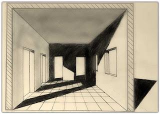 منظور الظلال في الرسم