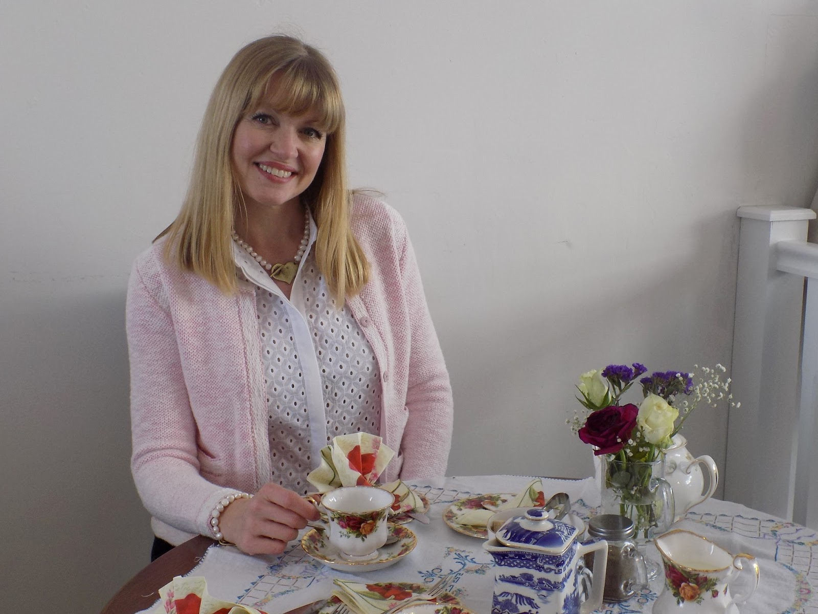Review of Helene's tearoom, Skipton. Afternoon tea.