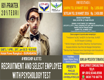 Seminar Alat Tes Psikologi