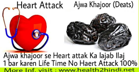 Heart attack ka ilaj- dil ki bimari_ dil ka dora- ajwa khajoor benefits