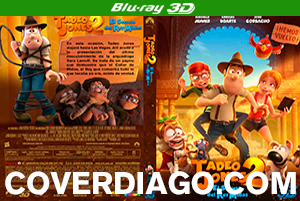 Tadeo Jones 2 El Secreto Del Rey Midas - BLURAY 3D