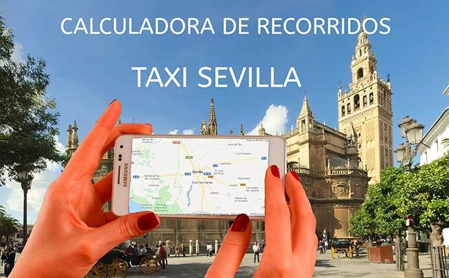 calculadora de recorridos taxi sevilla