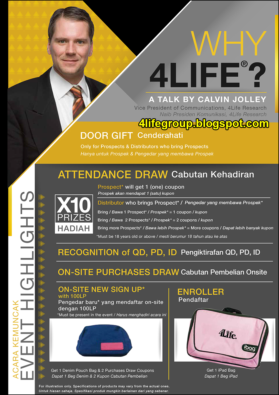 foto Why 4Life - A Talk by Calvin Jolley (1)