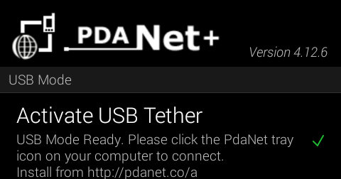How To Share Psiphon Connection To PC Using PdaNet+