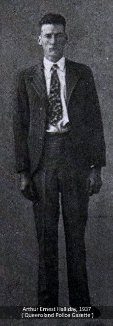 Arthur Ermest Halliday, 1937.